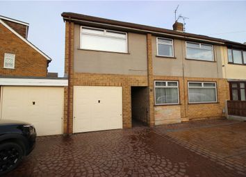 Thumbnail 3 bedroom semi-detached house for sale in Croft Close, Spondon, Derby