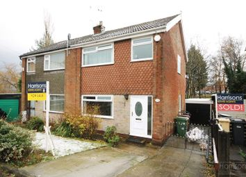 Thumbnail 3 bed semi-detached house for sale in Girvan Close, Morris Green, Bolton, Lancashire.