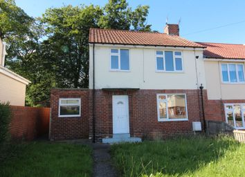 Thumbnail 3 bedroom semi-detached house to rent in Foxcovert Grove, Howden Le Wear, Crook