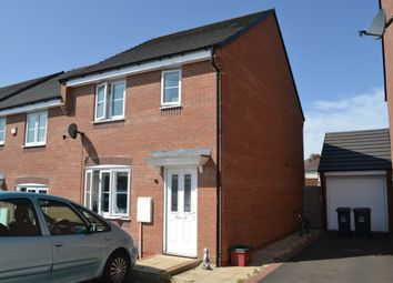 Thumbnail 3 bed semi-detached house for sale in Lamphouse Way, Wolstanton, Newcastle