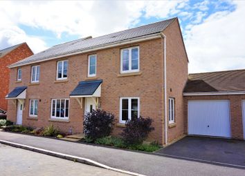 Thumbnail 3 bed semi-detached house for sale in Belland Hill, St. Neots