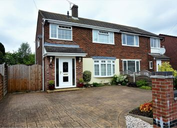 Thumbnail 3 bed semi-detached house for sale in Laurel Road, Locks Heath