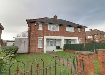 Thumbnail 2 bed semi-detached house for sale in Westminster Crescent, Intake, Doncaster, South Yorkshire
