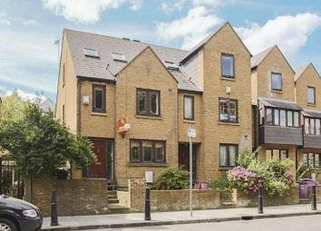 Thumbnail 4 bed terraced house to rent in Westferry Road, London
