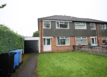 Thumbnail 3 bed semi-detached house for sale in Bradfield Road, Urmston, Manchester