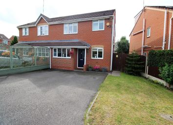 Thumbnail Semi-detached house for sale in Pebblebrook Way, Bedworth