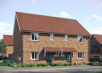 Thumbnail 2 bedroom terraced house for sale in Meridian Fields, Hardwick, Cambridge