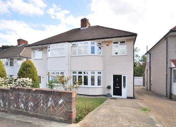 Thumbnail 3 bed semi-detached house for sale in Oakdene Avenue, Chislehurst, Kent