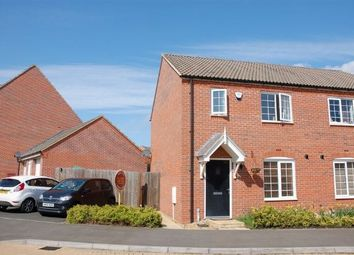 Thumbnail 3 bedroom semi-detached house for sale in The Furrows, Moulton, Northampton