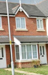 Thumbnail 3 bed terraced house to rent in Walkham Court, Gwersyllt