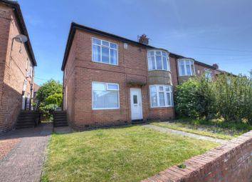 Thumbnail 2 bedroom flat for sale in Ovington Grove, Fenham, Newcastle Upon Tyne