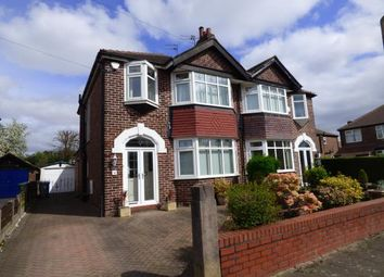 Thumbnail 3 bed semi-detached house for sale in Alston Avenue, Sale, Greater Manchester