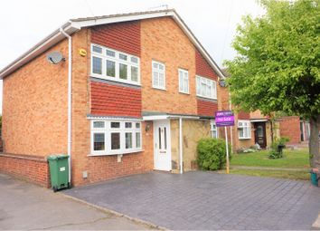 Thumbnail 3 bed semi-detached house for sale in Clare Way, Bexleyheath