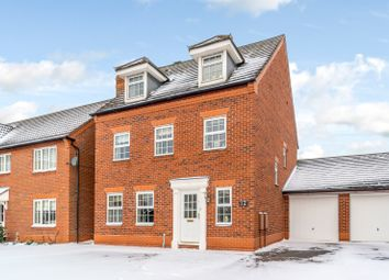 Thumbnail 5 bed detached house for sale in Williams Avenue, Fradley, Lichfield
