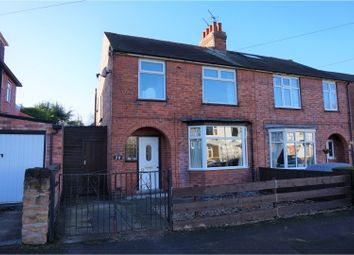 Thumbnail 3 bedroom semi-detached house for sale in Willoughby Road, West Bridgford