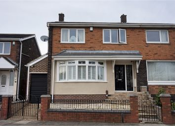 Thumbnail 3 bed semi-detached house for sale in Baltimore Avenue, Sunderland