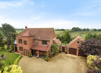 Thumbnail 4 bed detached house for sale in The Meadows, South Wootton, King's Lynn