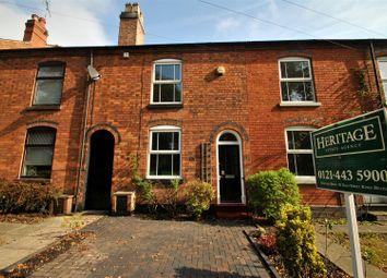 Thumbnail 2 bed terraced house to rent in Avenue Road, Kings Heath, Birmingham