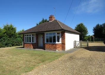 Thumbnail 2 bed detached bungalow for sale in Church Lane, Stibbington, Peterborough