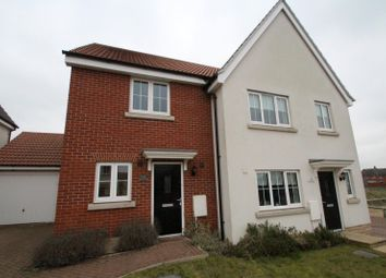 Thumbnail 2 bed semi-detached house to rent in Osprey Drive, Stowmarket