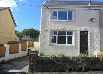 Thumbnail 3 bedroom semi-detached house for sale in Tanydarren Cilmaengwyn, Pontardawe, Swansea.
