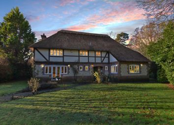 Thumbnail 4 bed detached house for sale in Opposite Woodland, No Chain, 0.4 Acre Plot, Double Garage, West Chiltington