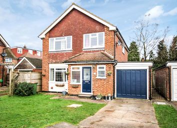 Thumbnail 4 bed detached house for sale in Leith Road, Beare Green, Dorking