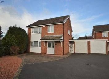 Thumbnail 3 bed detached house to rent in Little Glen Road, Glen Parva, Leicester