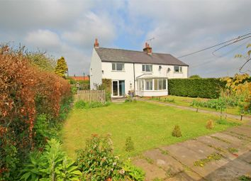 Thumbnail 3 bed semi-detached house for sale in Yedingham, Malton