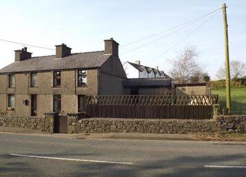 Thumbnail 2 bed semi-detached house for sale in Erw Hywel Cottages, Llanrug, Caernarfon, Gwynedd