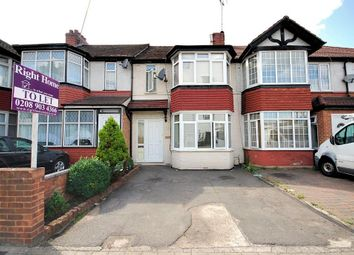 Thumbnail 3 bed end terrace house to rent in Bideford Avenue, Perivale, Greenford