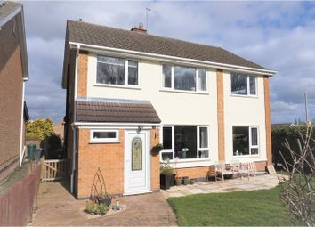 Thumbnail 4 bed detached house for sale in Church Drive, Keyworth
