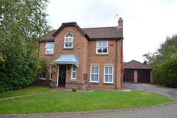 Thumbnail 4 bed detached house to rent in Cragside Way, Wilmslow, Cheshire