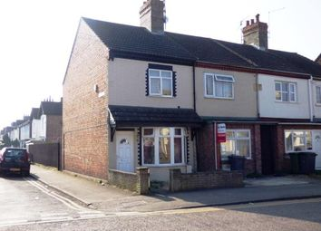 Thumbnail 2 bedroom end terrace house for sale in St. Pauls Road, Peterborough, Cambridgeshire, United Kingdom