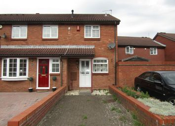 Thumbnail 2 bedroom end terrace house to rent in Moraunt Close, Gosport