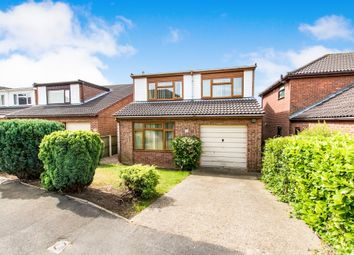 Thumbnail 4 bed detached house for sale in Turnberry Close, Heighington, Lincoln