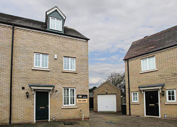 Thumbnail 3 bed town house for sale in Myrtle Drive, Burwell