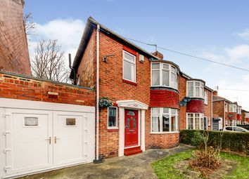 Thumbnail 2 bed semi-detached house for sale in Kentmere Avenue, Newcastle Upon Tyne, Tyne And Wear