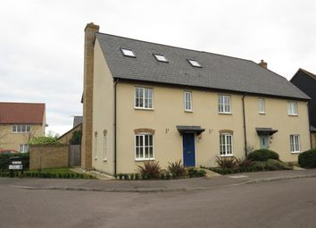 Thumbnail 5 bed town house for sale in Watergrove Lane, Great Cambourne, Cambridge
