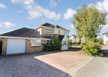 Thumbnail 4 bedroom detached house for sale in Grenadier Drive, Langstone, Newport