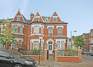 Thumbnail 1 bed flat to rent in Morella Road, London