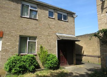 Thumbnail 3 bedroom end terrace house for sale in The Dell, Woodston, Peterborough