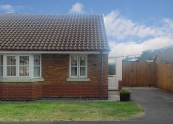 Thumbnail 2 bed semi-detached bungalow for sale in Burton Road, Spalding