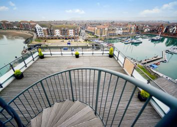 Thumbnail 4 bedroom flat for sale in Midway Quay, Eastbourne
