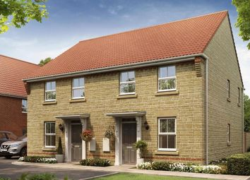 """Thumbnail 3 bed semi-detached house for sale in """"Ashurst"""" at Oxford Road, Calne"""
