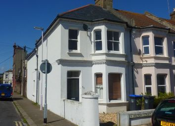 Thumbnail 2 bed flat to rent in First Floor Flat, 30 Milton Street, Worthing