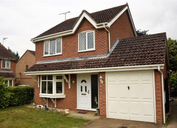 Thumbnail 3 bed detached house for sale in Pyes Meadow, Elmswell, Bury St. Edmunds