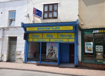 Thumbnail Retail premises for sale in St. Thomas Street, Weymouth