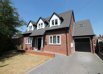 Thumbnail 4 bed detached house for sale in Sandown Gardens, Urmston, Manchester