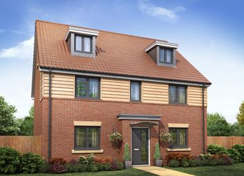 "Thumbnail 5 bedroom detached house for sale in ""Plot 24 The Sandringham"" at Poethlyn Drive, Costessey, Norwich"
